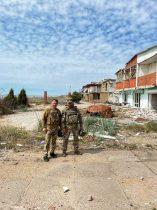 Олексій Петров відвідав бійців 128-ї окремої гірсько-штурмової бригади та побував у зоні бойових дій