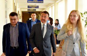 В Ужгородському національному університеті відкрили кабінет українсько-польської дружби