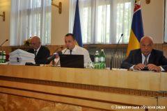 Пленарное заседание II 23 сессии областного Совета, 27.08.2015