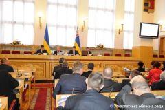 Второе пленарное заседание 11-й сессии областного Совета, 21.12.2012