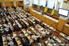 Пленарне засідання V сесії обласної ради, 12.08.2011